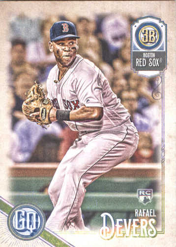 Photo of 2018 Topps Gypsy Queen #53 Rafael Devers RC