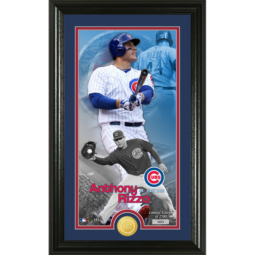Photo of Anthony Rizzo Supreme Bronze Coin Photo Mint