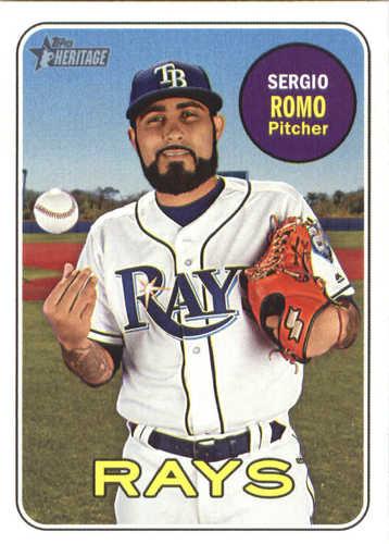 Photo of 2018 Topps Heritage #632 Sergio Romo