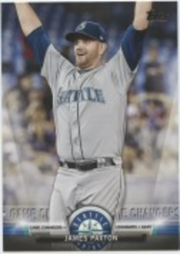 Photo of 2018 Topps Update Salute #S49 James Paxton