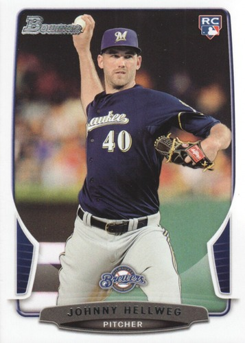 Photo of 2013 Bowman Draft #23 Johnny Hellweg RC