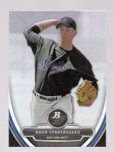Photo of 2013 Bowman Platinum Prospects #BPP35 Noah Syndergaard Pre-Rookie Card