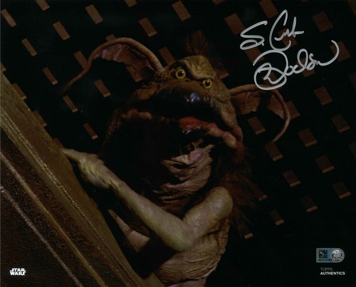 PREORDER Mark Dodson As Salacious B. Crumb 8x10 Autographed in Silver Ink Photo