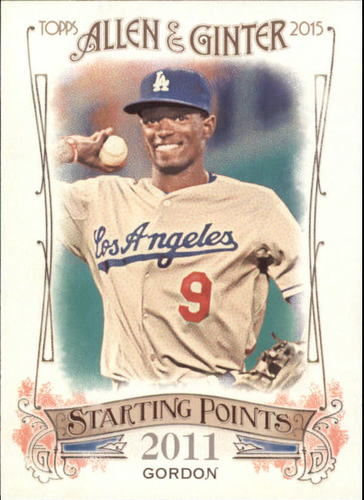Photo of 2015 Topps Allen and Ginter Starting Points #SP44 Dee Gordon