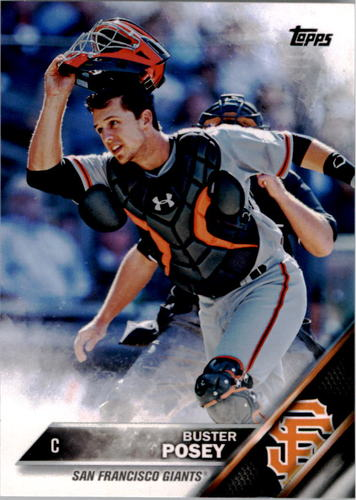 Photo of 2016 Topps #300A Buster Posey