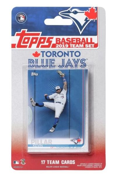 Toronto Blue Jays 2019 Team Card Set by Topps
