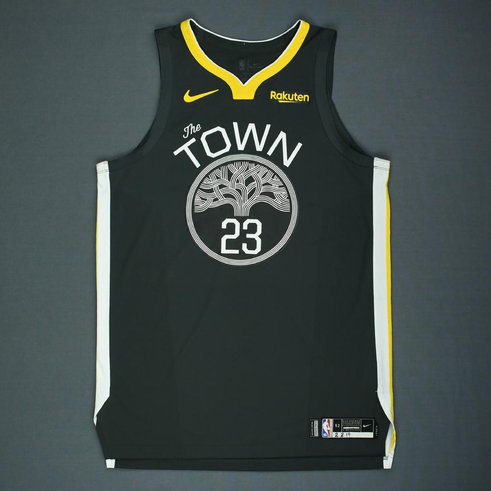Draymond Green - Golden State Warriors - 2018-19 NBA Season - Game-Worn Gray Statement Edition Jersey