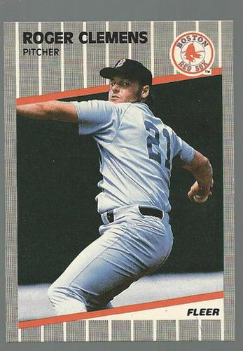 Photo of 1989 Fleer #85 Roger Clemens