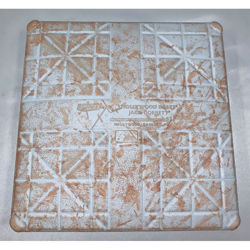 Photo of New York Yankees vs Boston Red Sox September 9, Game Used 3rd Base - Yankees Win 5 to 0