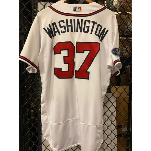 Photo of Ron Washington Game Used Jersey from 2018 NLDS - Worn 10/7/2018 and 10/8/18