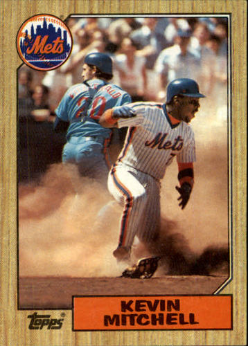 Photo of 1987 Topps #653 Kevin Mitchell RC *