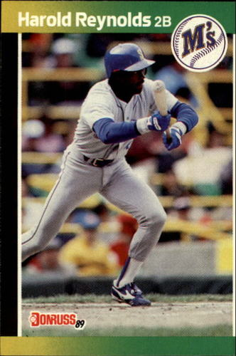 Photo of 1989 Donruss #93 Harold Reynolds