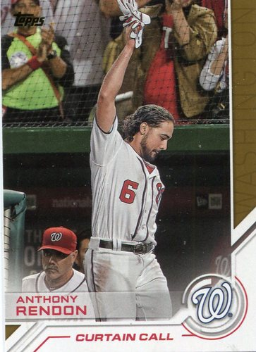 Photo of 2017 Topps Salute #S181 Anthony Rendon