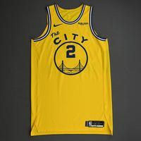 Willie Cauley-Stein - Golden State Warriors - Game-Worn Classic Edition 1966-67 Home Jersey - 2019-20 NBA Season