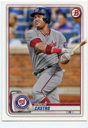 Photo of 2020 Bowman #84 Starlin Castro