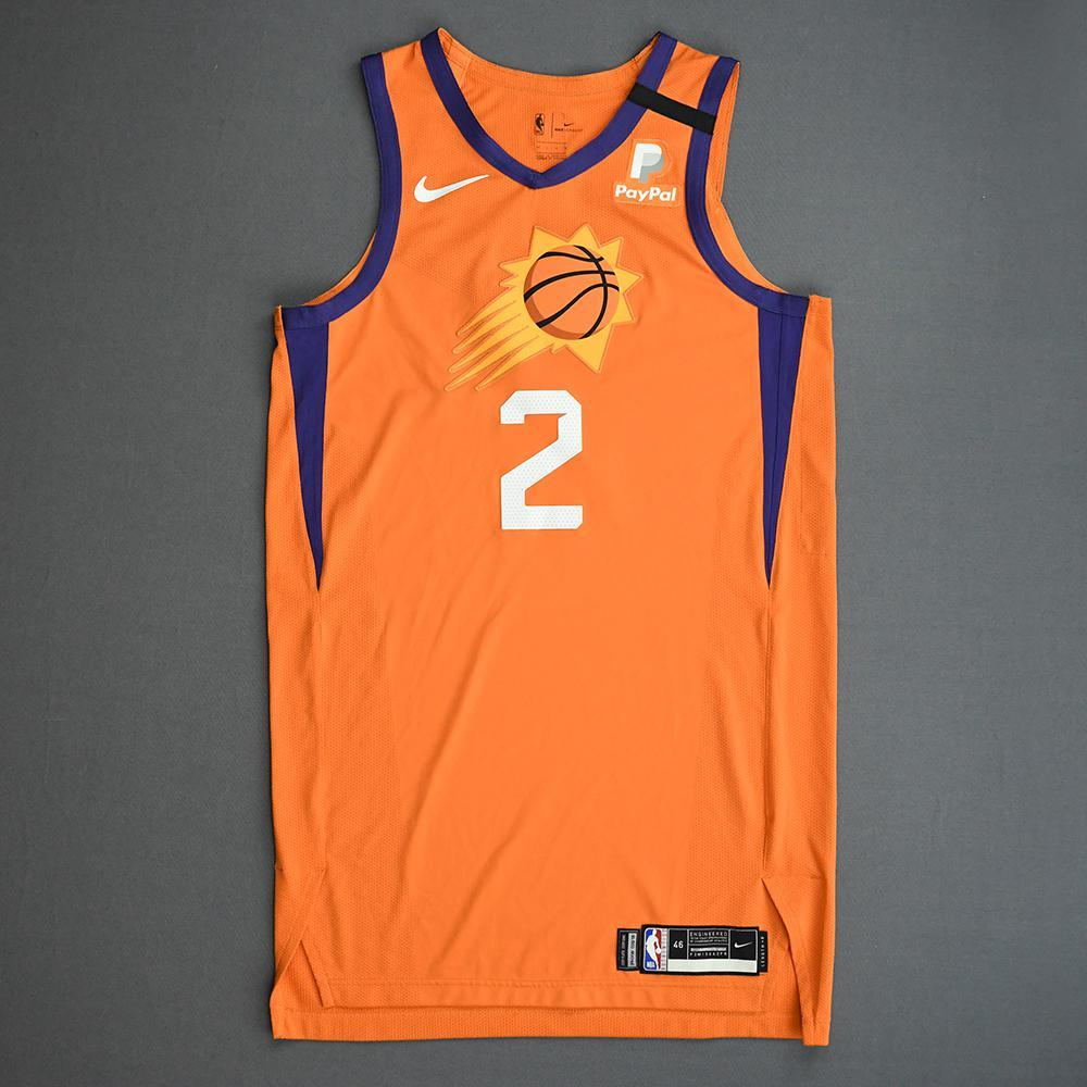 Elie Okobo - Phoenix Suns - Game-Worn Statement Edition Jersey - Dressed, Did Not Play (DNP) - 2019-20 NBA Season Restart with Social Justice Message