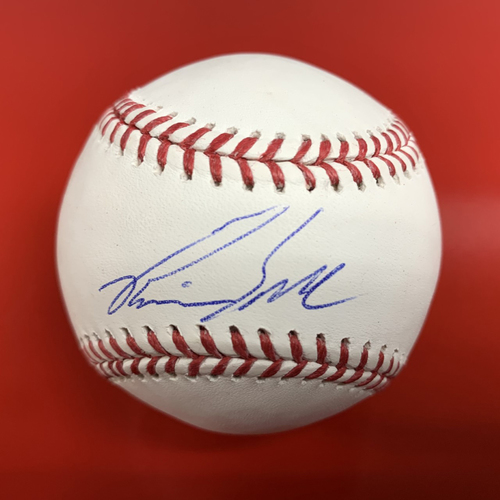Photo of Pavin Smith Autographed Baseball