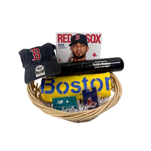 Photo of Bobby Dalbec Favorite Things Basket