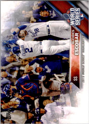 Photo of 2016 Topps #120 Alcides Escobar WSH