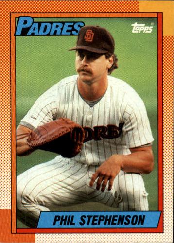 Photo of 1990 Topps #584 Phil Stephenson