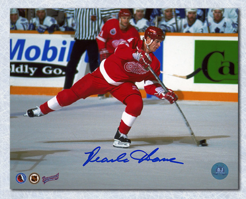 Mark Howe Detroit Red Wings Autographed 8x10 Photo