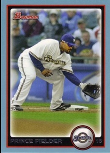 Photo of 2010 Bowman Blue #50 Prince Fielder
