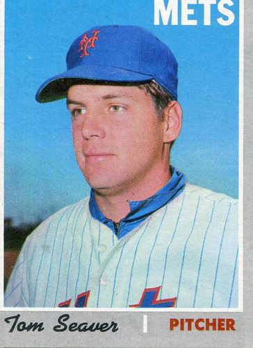 Photo of 1970 Topps #300 Tom Seaver -- Hall of Famer