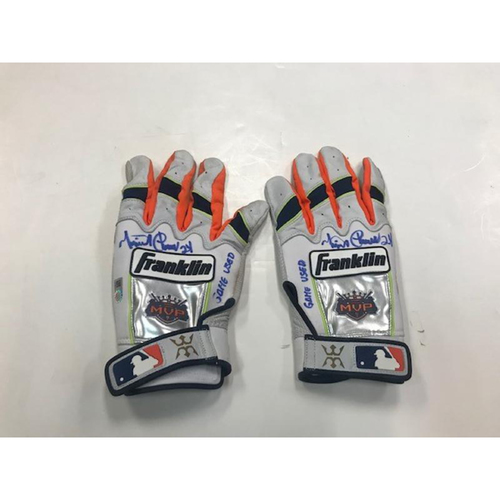 Photo of Autographed Miguel Cabrera Batting Gloves