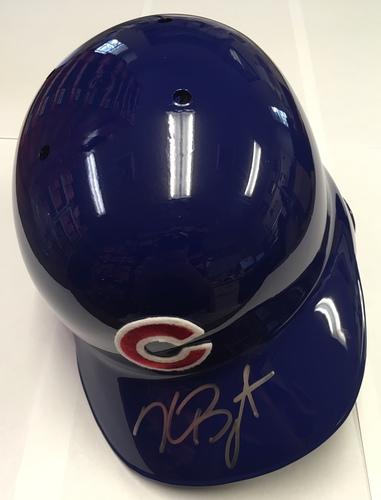 Kris Bryant Autographed Cubs Batting Helmet