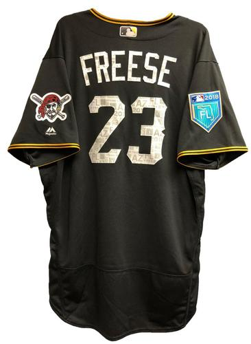 Photo of David Freese Game-Used 2018 Spring Training Jersey