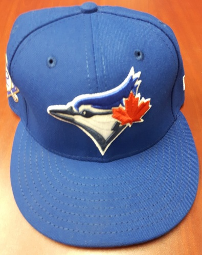 Photo of CHARITY AUCTION: Authenticated Team Issued #42 Cap - Justin Smoak (May 3, 2018). Size 7 1/8