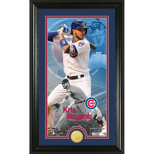Photo of Kris Bryant Supreme Bronze Coin Photo Mint