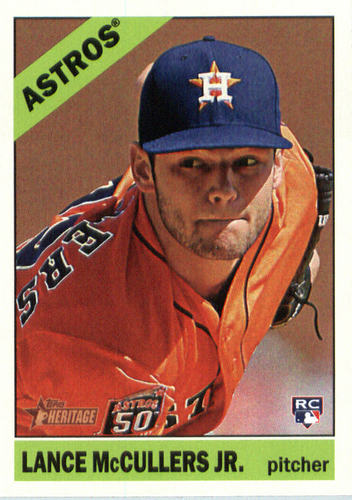 Photo of 2015 Topps Heritage #605 Lance McCullers Jr. Rookie Card