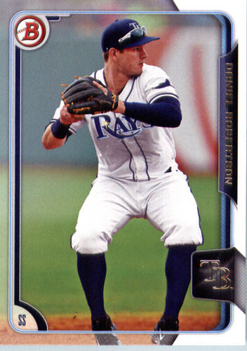 Photo of 2015 Bowman Draft #175 Daniel Robertson