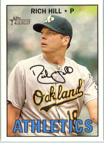 Photo of 2016 Topps Heritage #513 Rich Hill