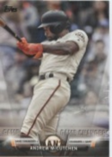Photo of 2018 Topps Update Salute #S50 Andrew McCutchen