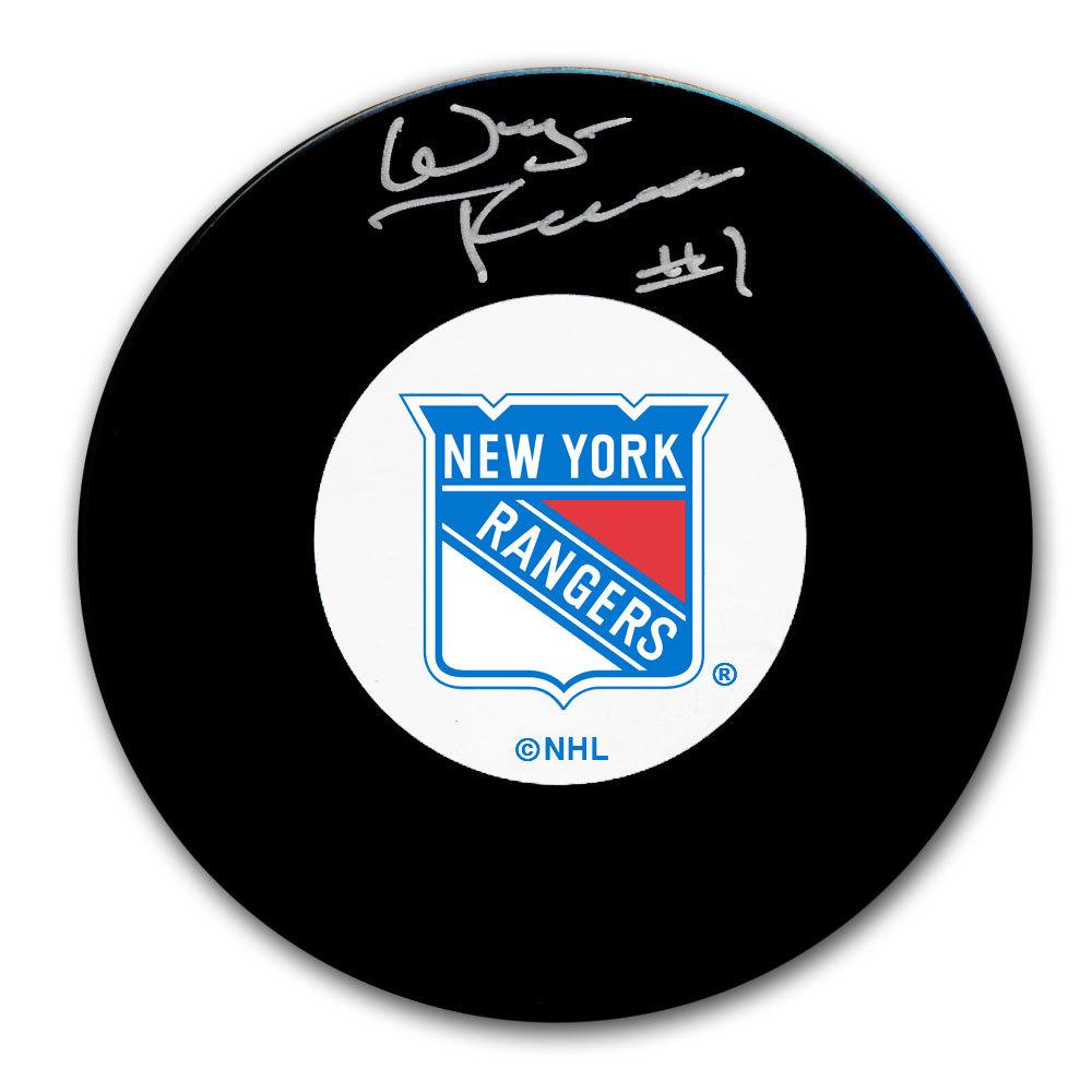 Wayne Thomas New York Rangers Autographed Puck