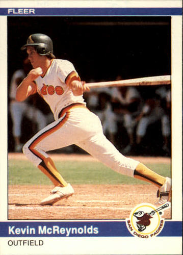 Photo of 1984 Fleer #307 Kevin McReynolds RC