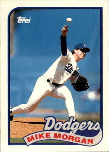 Photo of 1989 Topps Traded #84T Mike Morgan