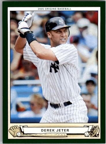 Photo of 2005 Origins #44 Derek Jeter