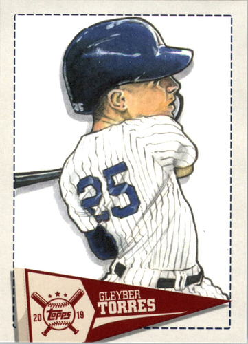 Photo of 2019 Topps Big League Star Caricature Reproductions #SCRGT Gleyber Torres