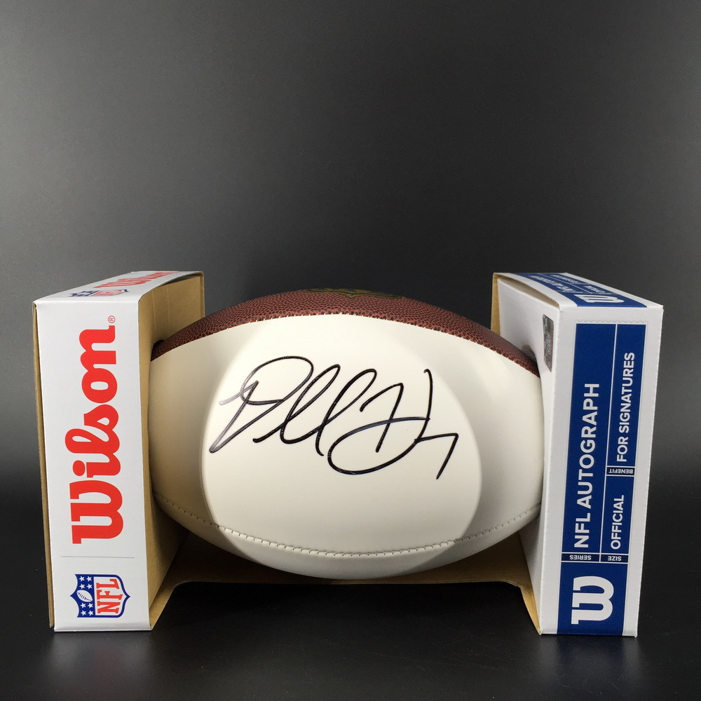 NFL - Rams Darrell Henderson Signed Panel Ball