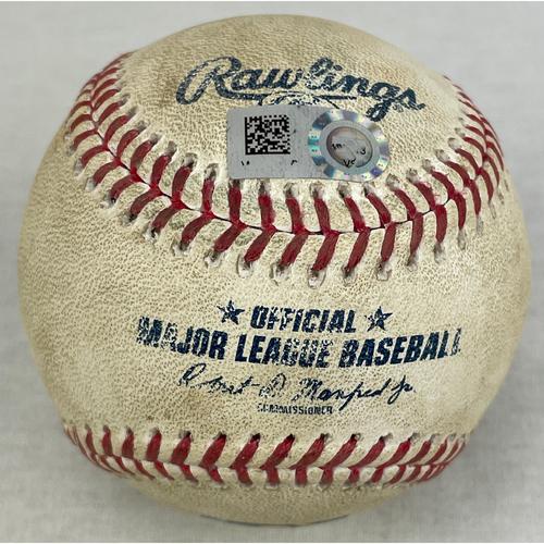 Kyle Tucker Home Run Game-Used Baseball