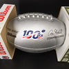 PCC - Titans Derrick Henry Signed Silver 100 Seasons Commemorative Football