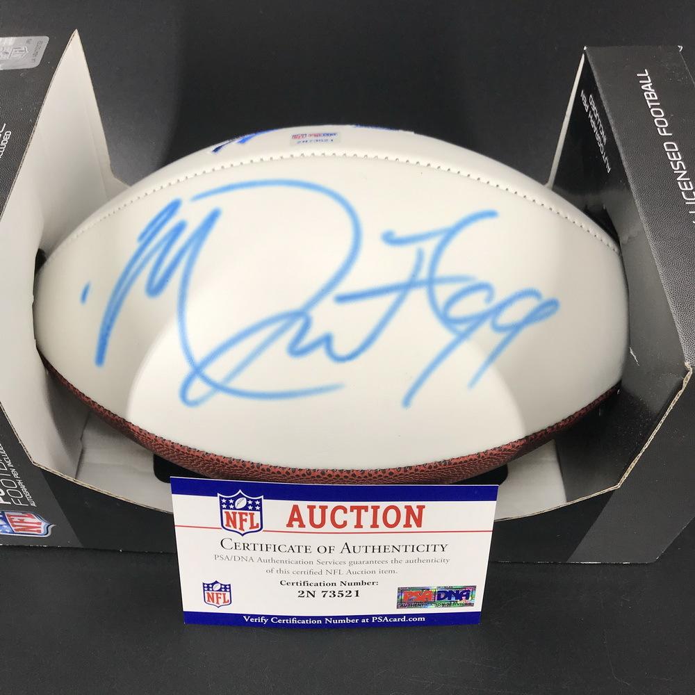 Bills - Marcell Dareus Signed Panel Ball with Bills Logo