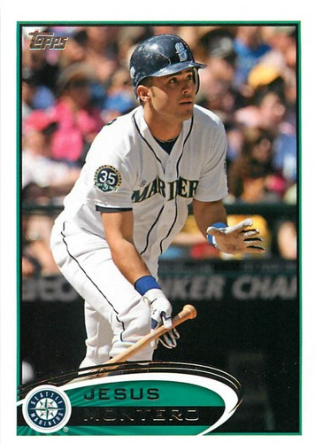 Photo of 2012 Topps Update #US204 Jesus Montero RC