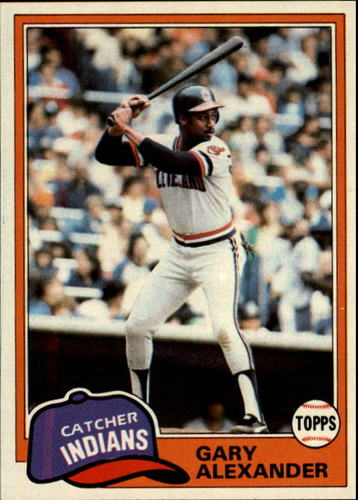Photo of 1981 Topps #416 Gary Alexander