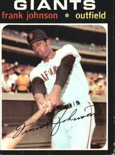 Photo of 1971 Topps #128 Frank Johnson