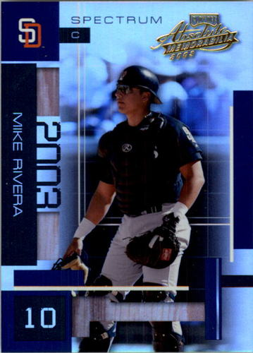 Photo of 2003 Absolute Memorabilia Spectrum #56 Mike Rivera