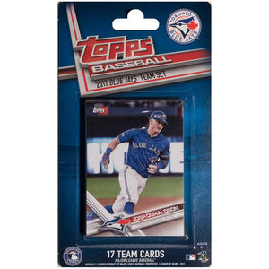 Toronto Blue Jays 2017 Team Set Baseball Cards by Topps
